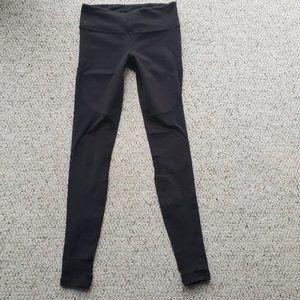 ALO Yoga Black Luon Leggings - Sz XS